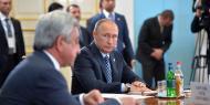 ՀՀ եւ ՌԴ նախագահներ Սերժ Սարգսյան եւ Վլադիմիր Պուտին