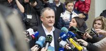 Глава Партии социалистов Игорь Додон
