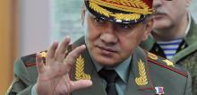 Ռուսաստանի Դաշնության պաշտպանության նախարար Սերգեյ Շոյգու